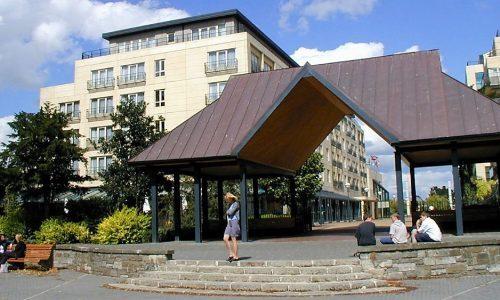 Park Shelter Entrance